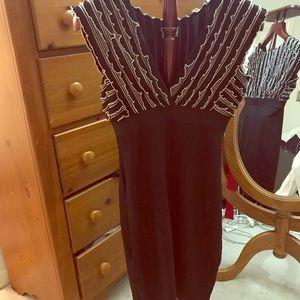 Sophie Max black/cream dress